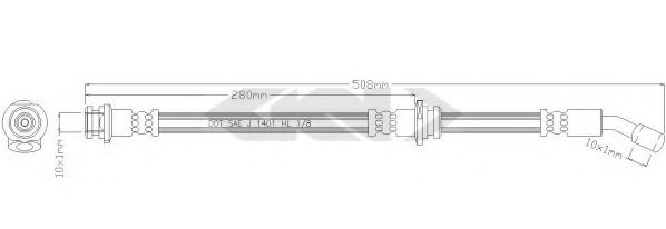 38575 Cable, manual transmission