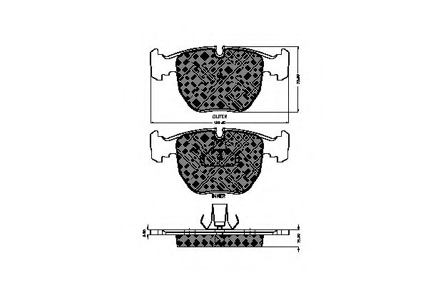 32453 Cable, manual transmission