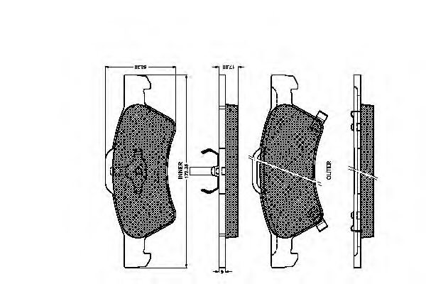 32462 Cable, manual transmission