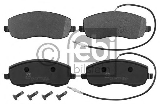 16846 Brake System Brake Pad Set, disc brake