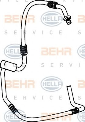9GS 351 337-001 High Pressure Line, air conditioning