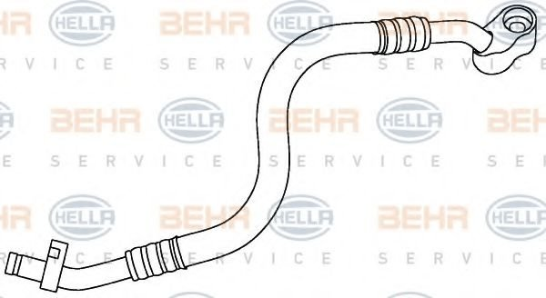 9GS 351 337-511 High Pressure Line, air conditioning