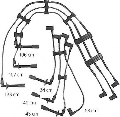 ZE744 Ignition Cable Kit