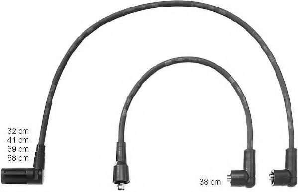 ZEF1069 Ignition Cable Kit