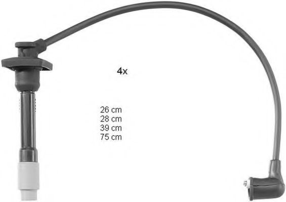 ZEF1110 Ignition Cable Kit