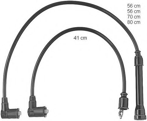 ZEF405 Ignition Cable Kit