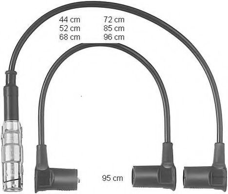 ZEF558 Ignition Cable Kit