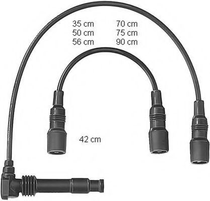ZEF569 Ignition Cable Kit