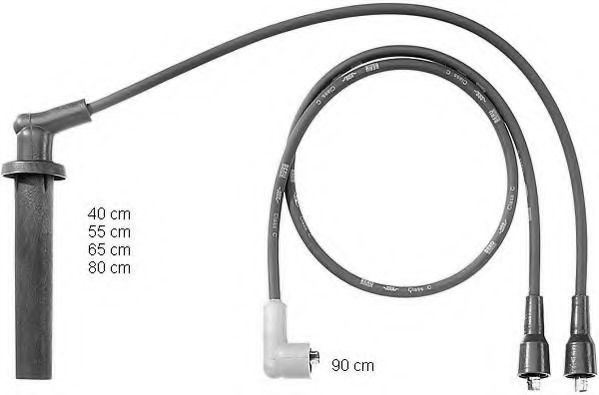 ZEF755 Ignition Cable Kit