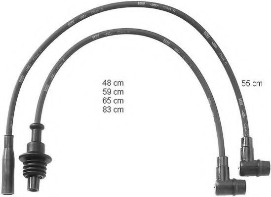 ZEF790 Ignition Cable Kit