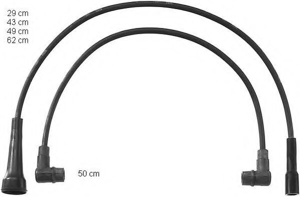 ZEF814 Ignition Cable Kit
