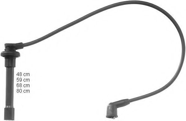 ZEF842 Ignition Cable Kit