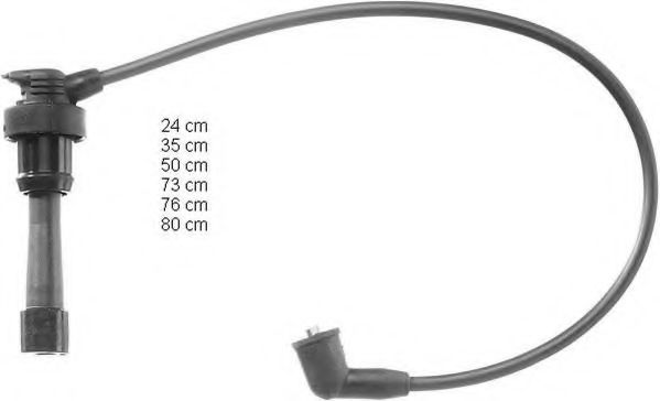 ZEF888 Ignition Cable Kit