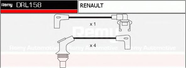DRL158 Ignition System Ignition Cable Kit