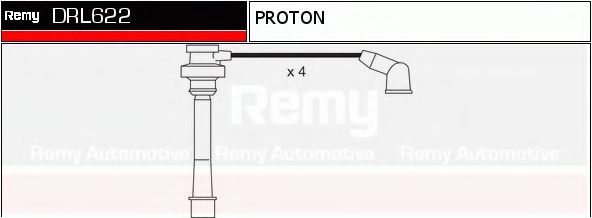 DRL622 Ignition System Ignition Cable Kit