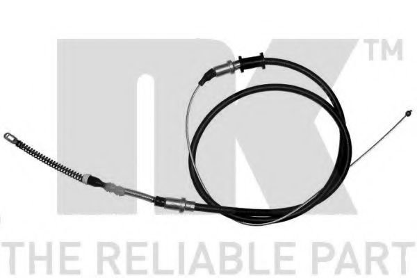 903668 Cable, parking brake