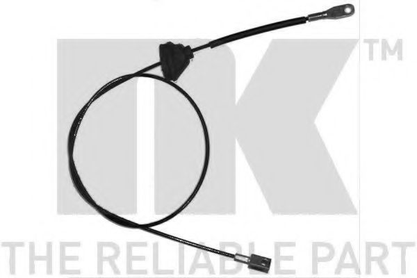 904826 Cable, parking brake
