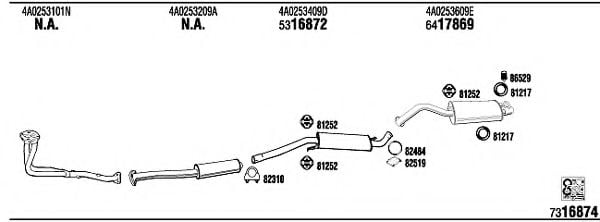 AD25106 Exhaust System