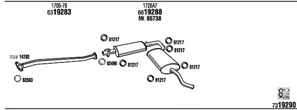 CI90009 Exhaust System