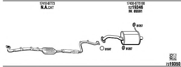 DH30441 Exhaust System