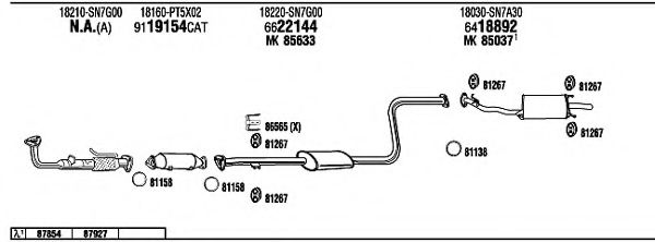 HO60084 Exhaust System