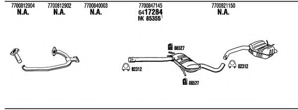 RE35028 Exhaust System
