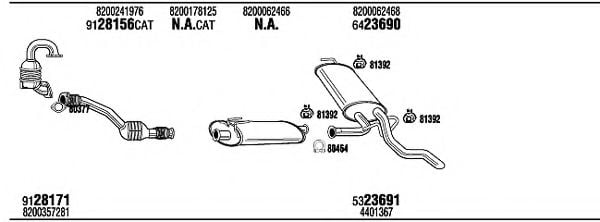 REH30346B Exhaust System