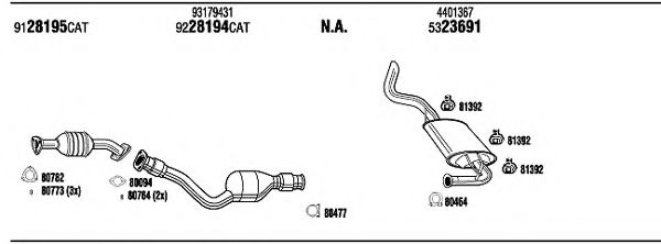 VHH20066 Exhaust System