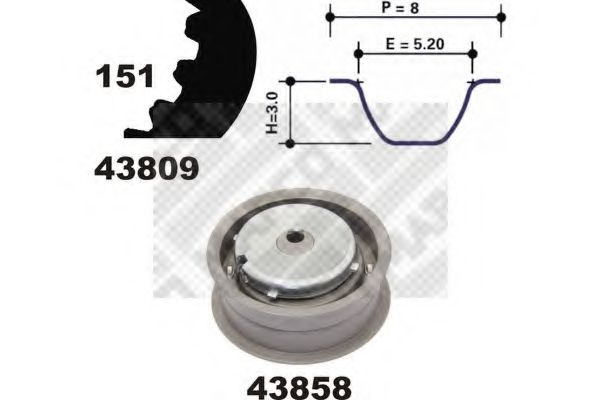 73815 Ignition Cable Kit