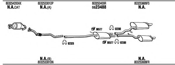 ADH18405 Exhaust System