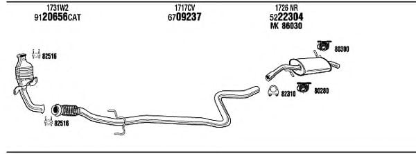 CI30013 Exhaust System