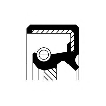 15026712B Shaft Seal, differential