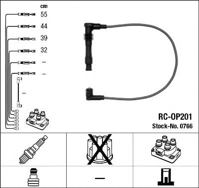 0766 Ignition Cable Kit