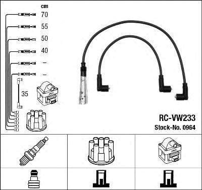 0964 Ignition Cable Kit