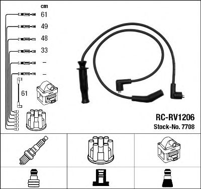7708 Clutch Cable