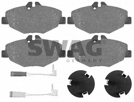 10 91 6452 Brake System Brake Pad Set, disc brake