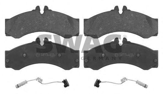 10 91 6811 Brake System Brake Pad Set, disc brake