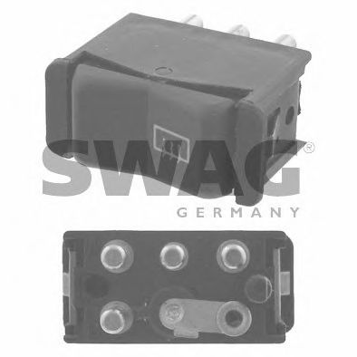10 91 8310 Comfort Systems Switch, rear window heating
