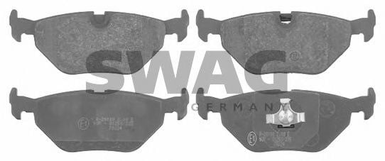 20 91 6176 Brake System Brake Pad Set, disc brake