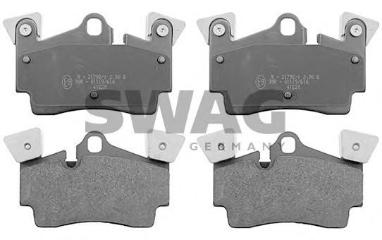 30 11 6020 Brake System Brake Pad Set, disc brake