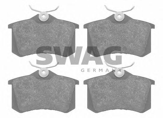 30 91 6148 Brake System Brake Pad Set, disc brake