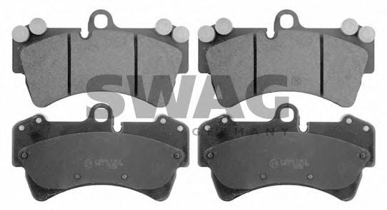 30 91 6460 Brake System Brake Pad Set, disc brake