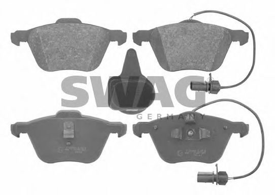30 91 6629 Brake System Brake Pad Set, disc brake