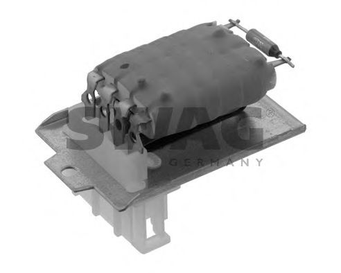 30 91 9774 Heating / Ventilation Resistor, interior blower