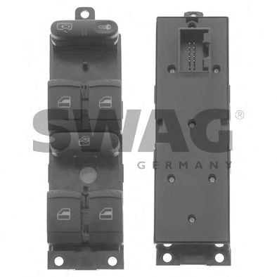 30 93 8639 Comfort Systems Switch, window lift