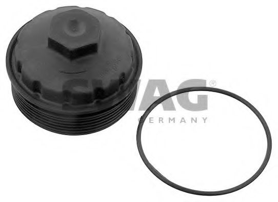 30 93 9698 Lubrication Cover, oil filter housing