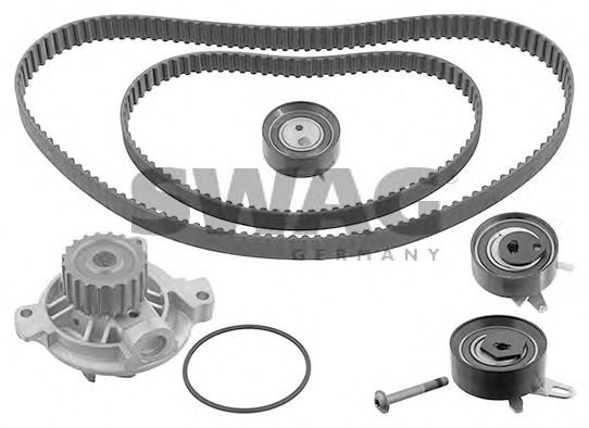 30 94 5127 Cooling System Water Pump & Timing Belt Kit
