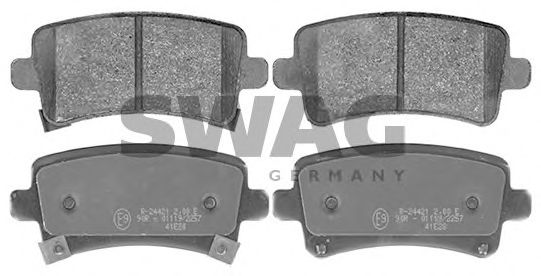 40 11 6147 Brake System Brake Pad Set, disc brake