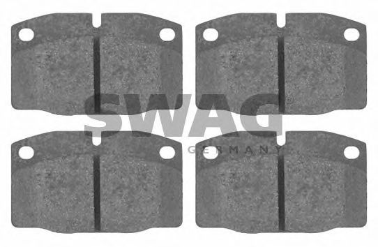 40 91 6203 Brake System Brake Pad Set, disc brake