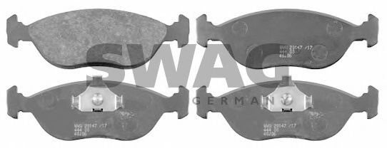55 91 6470 Brake System Brake Pad Set, disc brake